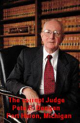 The corrupt Judge: Peter E. Deegan